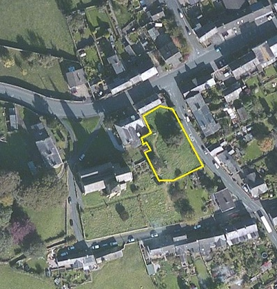 Churchyard location
